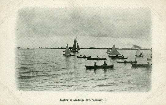 Sandusky history the lake shore route association for Sandusky bay fishing
