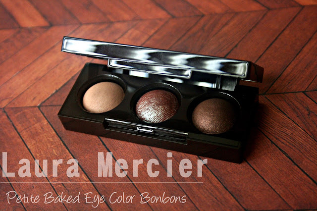 Laura Mercier Petite Baked Eye Color Bonbons in Bronze Trio
