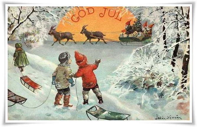 Bildresultat för jenny nyström julkort