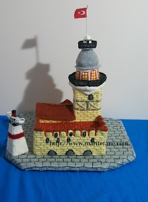 amigurimi kız kulesi