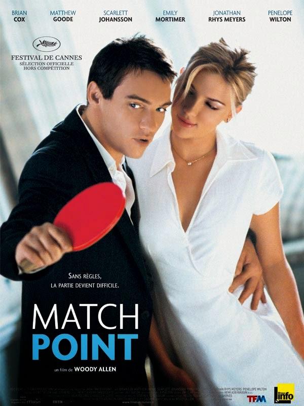 Affiche de Match Point de Woody Allen