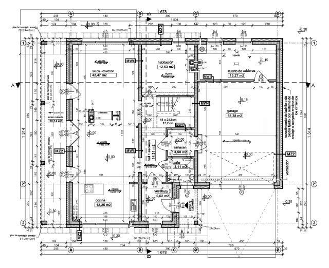 Tecnologies a l 39 educaci secund ria expressi gr fica for Como leer planos arquitectonicos pdf