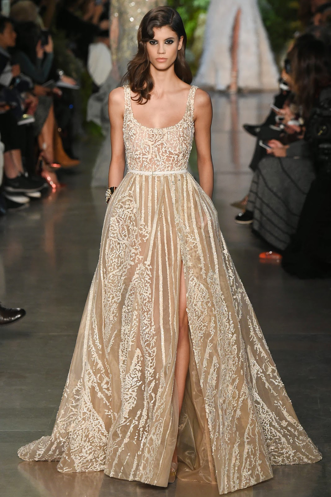 Runway report paris couture fashion week elie saab for Hout couture