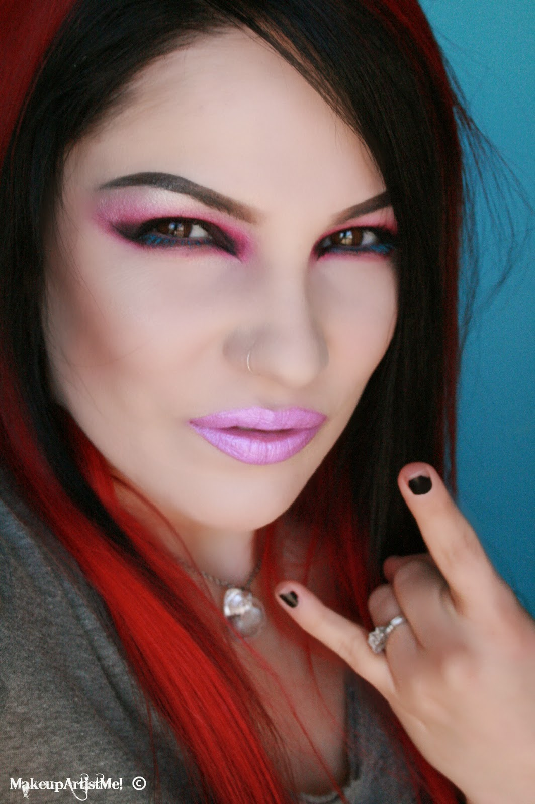 Make Up Artist Me Rock Chick Makeup Tutorial