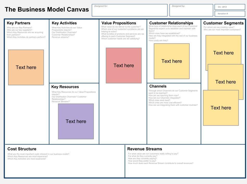 Business model template flashek Images
