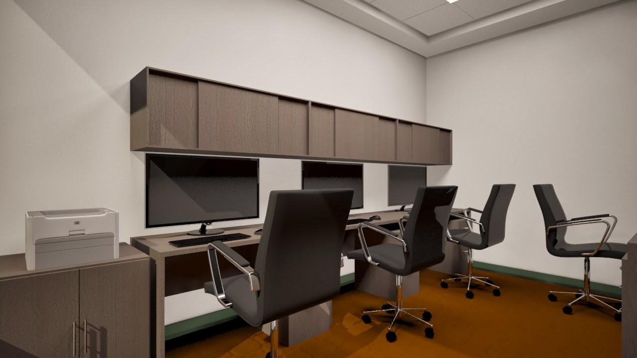 Oniria remodelacion de oficinas en edificaci n declarada for Remodelacion oficinas