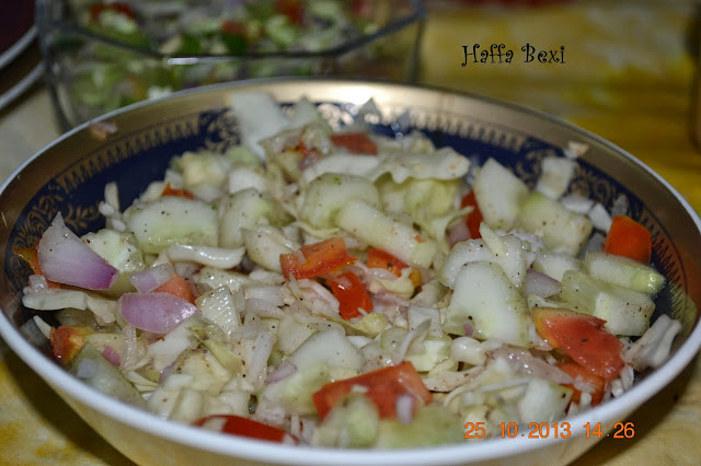 Kachumbari| Cucumber| Cabbage| Onion| Tomato| Salad| Green Salad