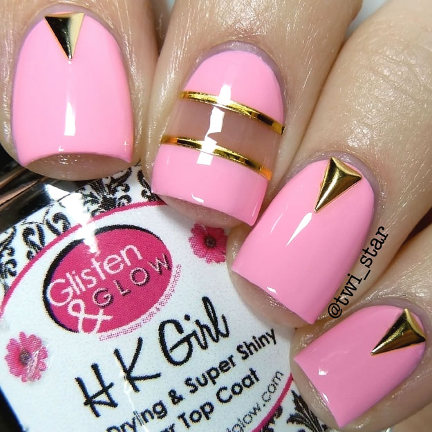 HK Girl Top Coat swatch