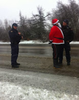Santa arrested at Elsipogtog Mi'kmaqs fracking protest