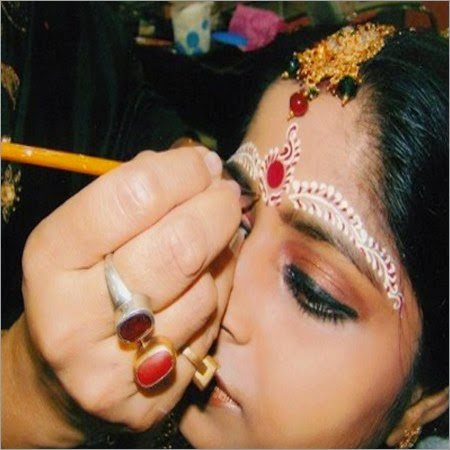bridal makeup for hindu