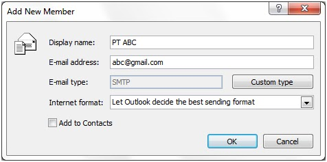 how to create yahoo email in outlook 2007