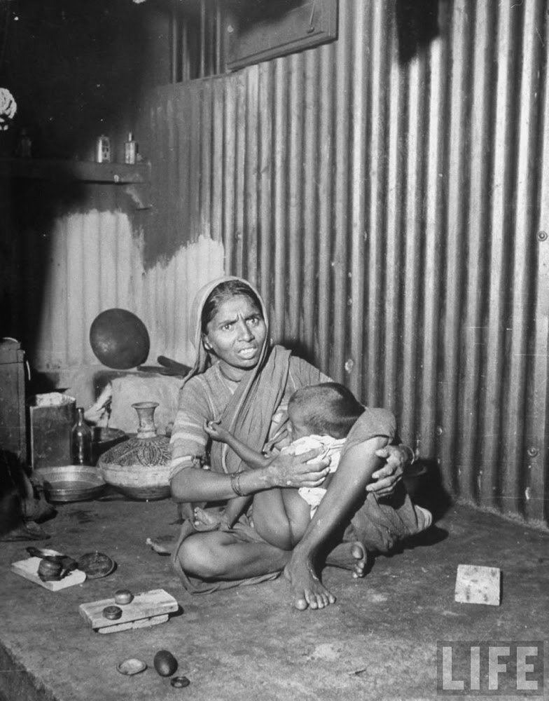 Indian mother with her child