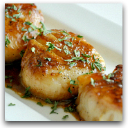 Perfect Seared Scallops
