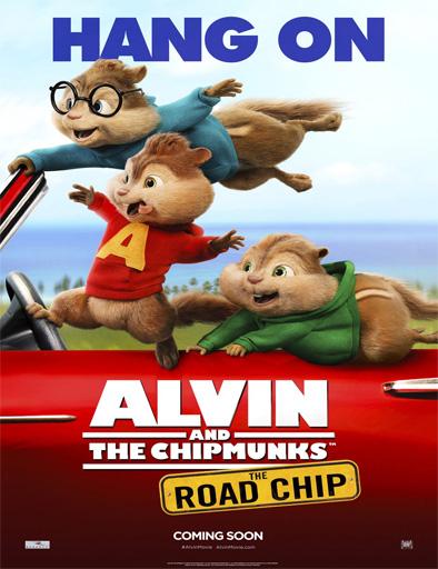 Ver Alvin y las ardillas 4: Aventura sobre ruedas (2015) Online