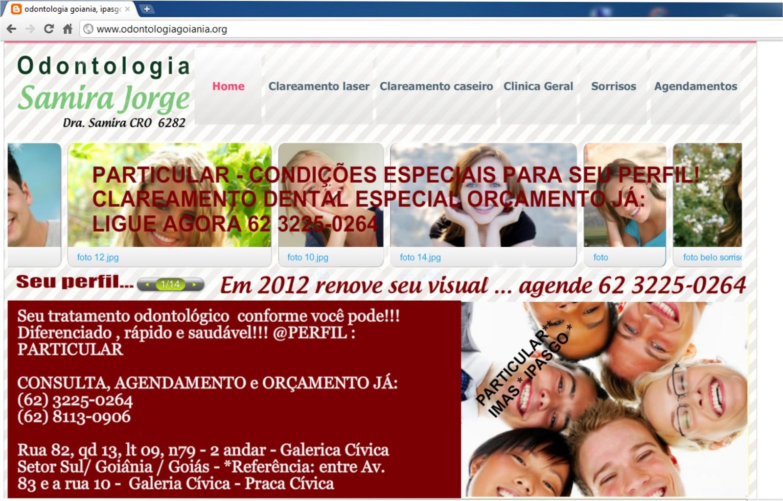 Odontologia goiânia dra samira jorge 3225 0264 8113 0906