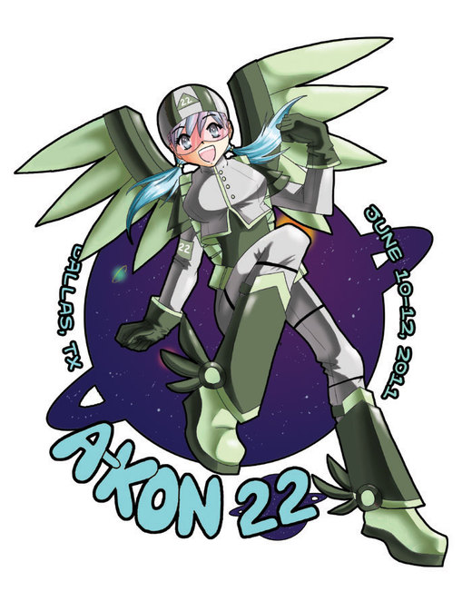 A-kon 22 T-shirt Contest Entry por woolfcub