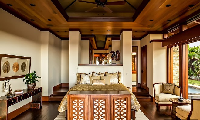 Casa de lujo estilo balin s en kailua kona hawaii arquitexs - Decoracion casas de lujo ...