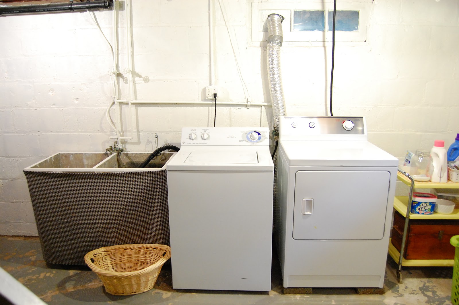 Basement Laundry Room Before And After As you can see from this  old