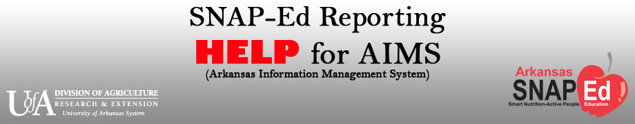 AIMS SNAP Help