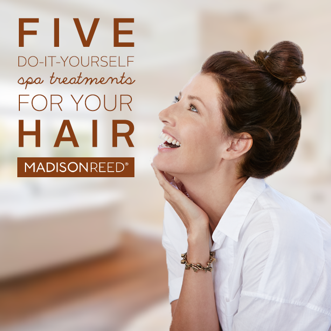 image Five DIY Spa Treatments For Your Hair from Madison Reed