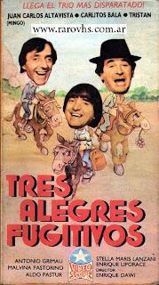 Tres alegres fugitivos (Minguito-Balá-Tristán)