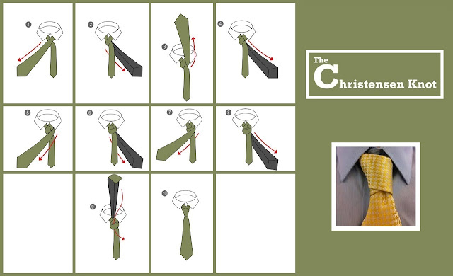 The Christensen Necktie Knot