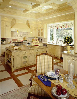 french country kitchen design and decoration