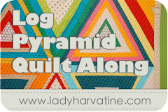 Log Pyramid Quilt Along