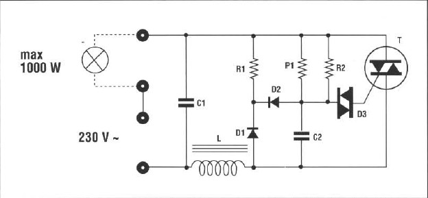 drive home automation light low hysteresis
