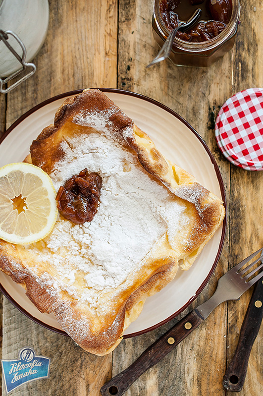 Filozofia Smaku: David Eyre's Pancake, pieczony naleśnik z USA