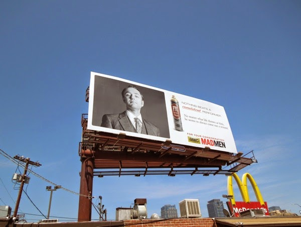 Pete Campbell Mad Men 2014 Emmy billboard