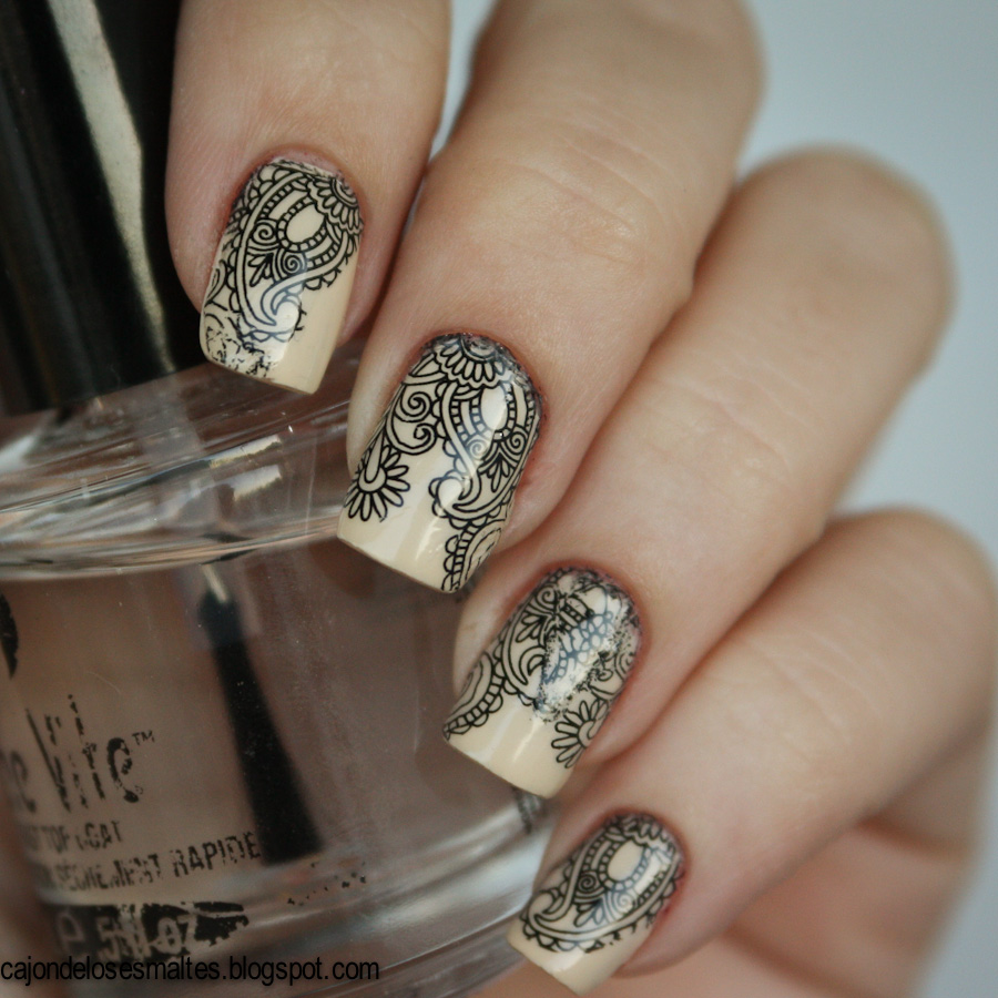 Nude Zoya Jacqueline - water decal -