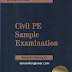 Download Free Civil PE Sample Examination Book [PDF]