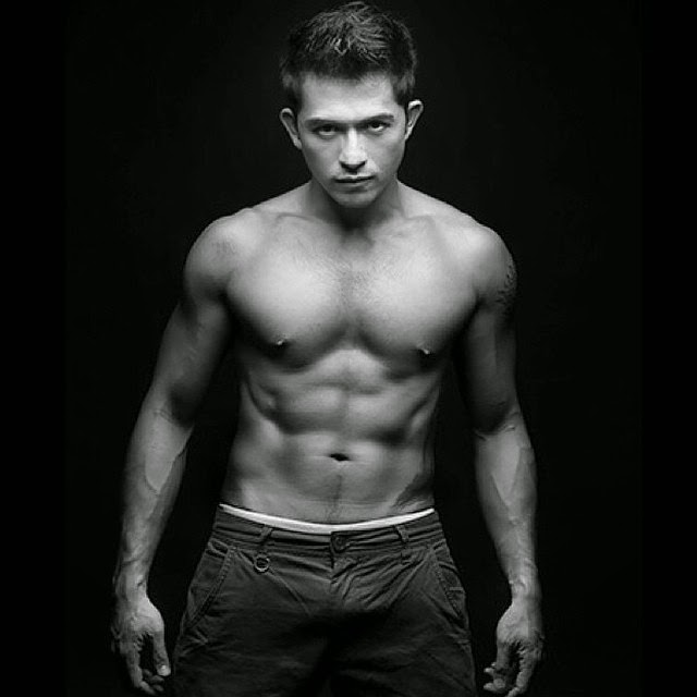 Dennis Trillo, shirtless for Bench Naked Truth