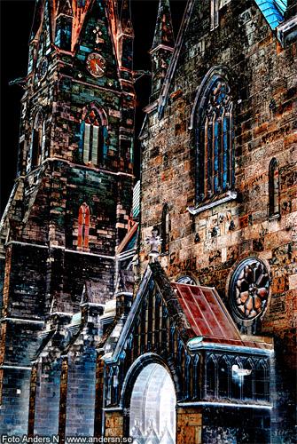 skara domkyrka, domkyrkan, katedral, katedralen, cathedral, skara, västergötland, sverige, sweden, foto anders n