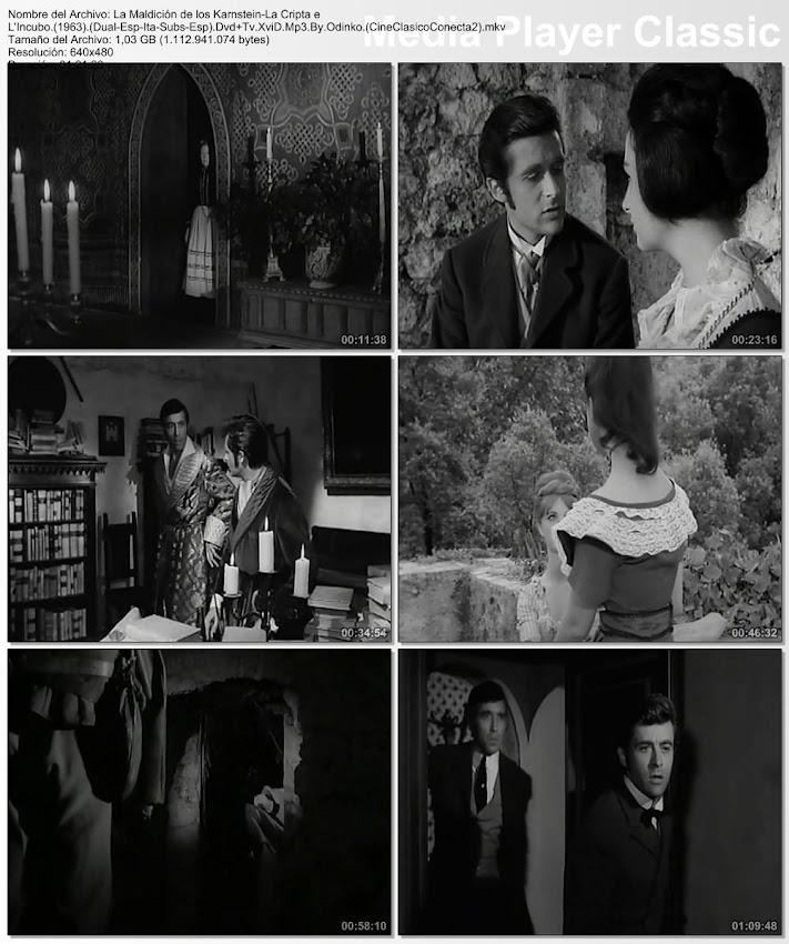 ImagenLa maldición de los Karnstein (La cripta y la pesadilla) | 1964 | La cripta e l'incubo