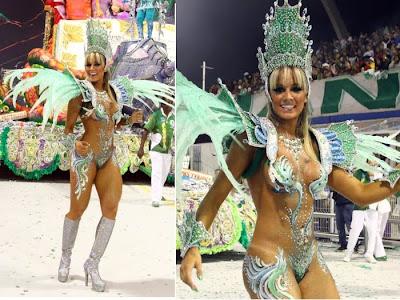 Fotos musas do Carnaval 2011 - São Paulo - 1° noite - Juju Panicat