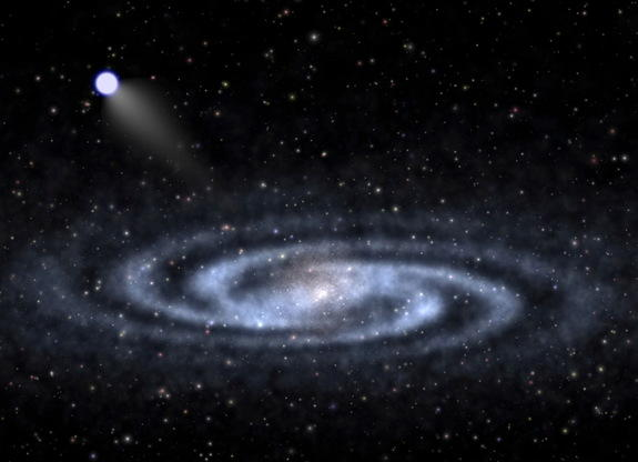 'Hypervelocity Star' May Reveal Clues About Dark Matter in Milky Way