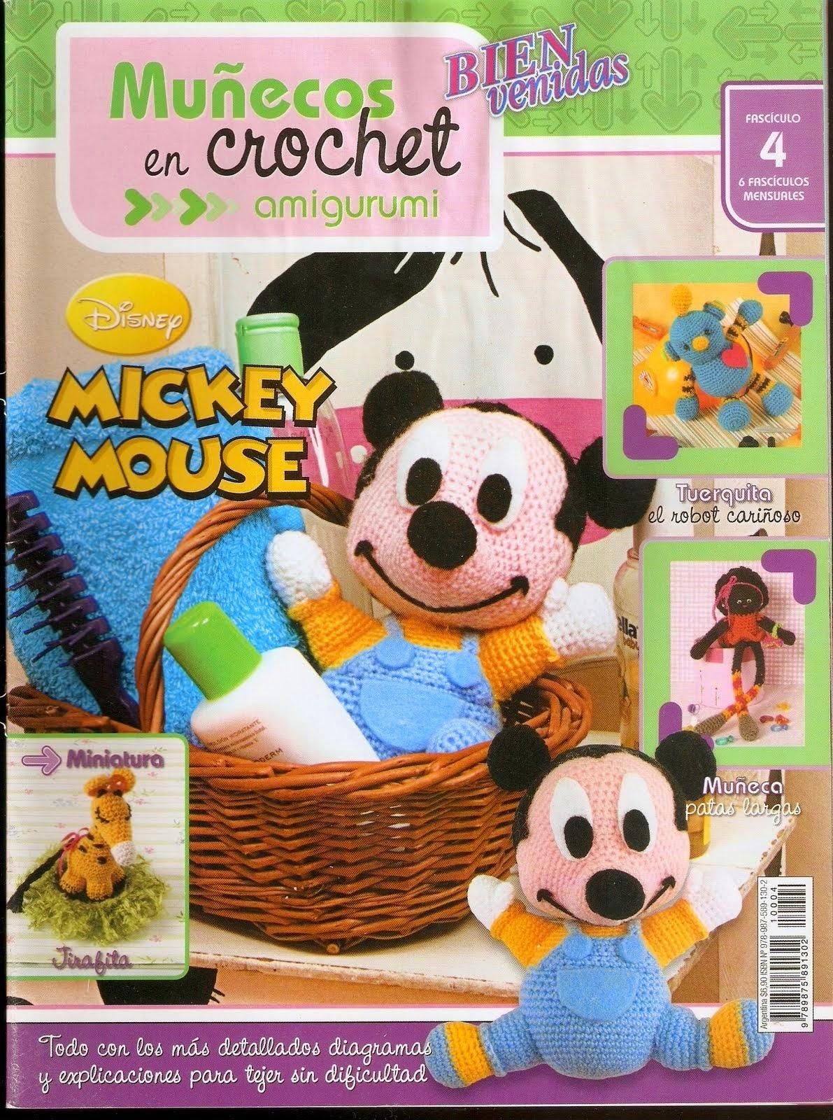 como hacer un amigurumi mickey mouse - Revistas de crochet y tejidos ...