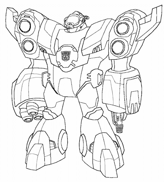 Transformer Sky Lynx Coloring Page