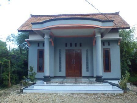 gambar desain rumah paduan gaya klasik dan modern terbaru