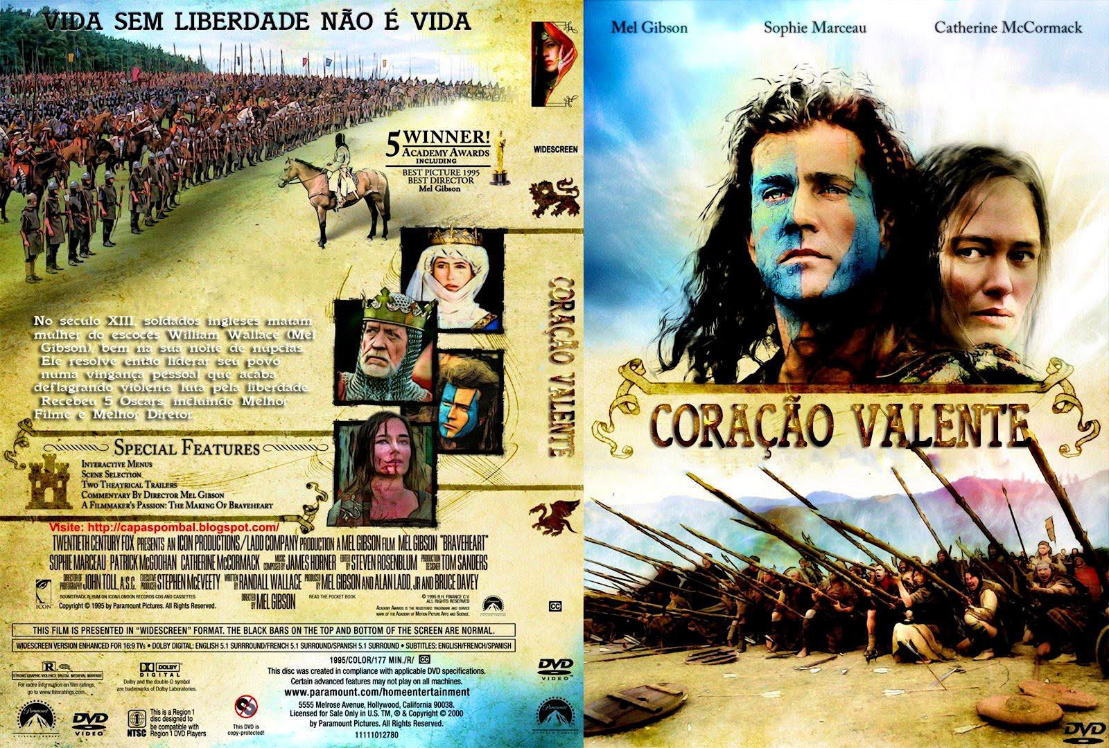 Coracao Valente Dvd Cover