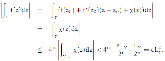 Complex Analysis: #4 Cauchy`s Theorem (simplest version) equation pic 11