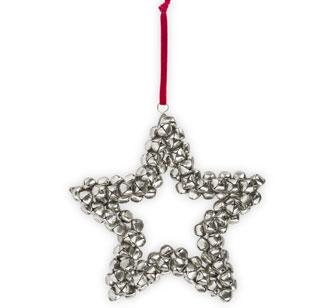 adorno estrella de Navidad