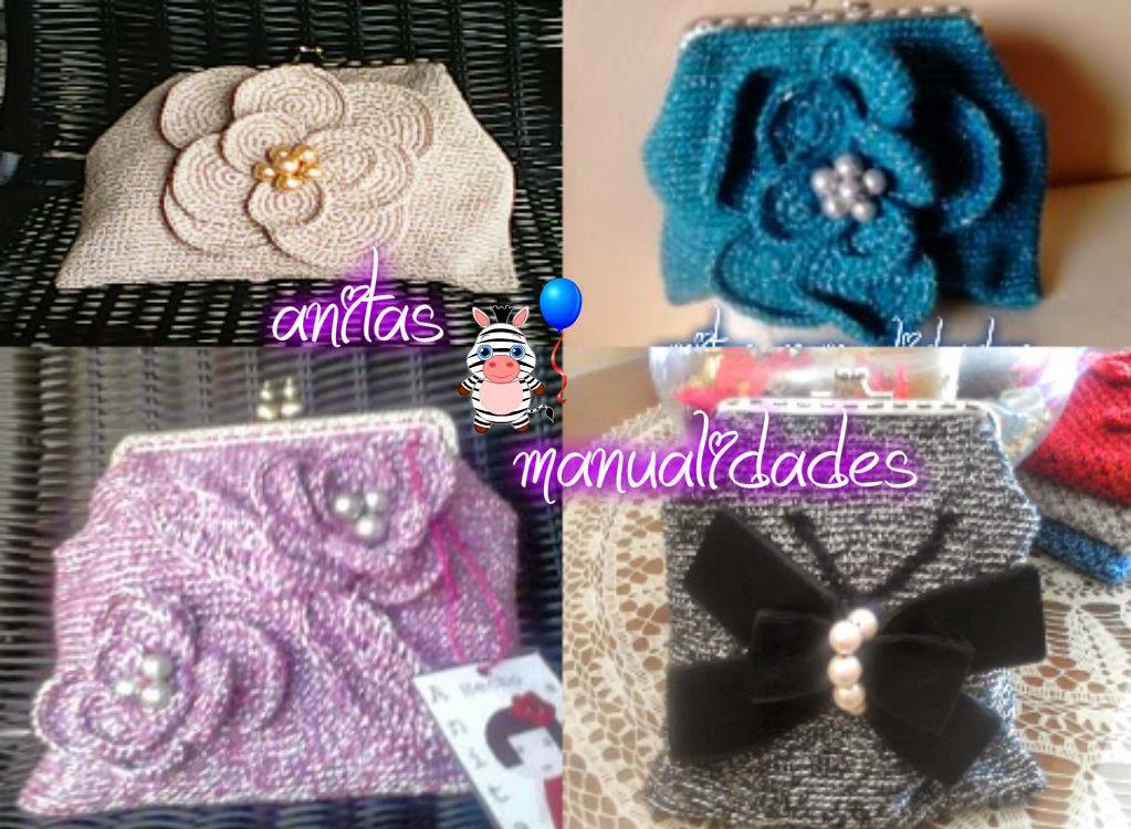 Anitas manualidades bolsos de ganchillo for Manualidades de ganchillo bolsos