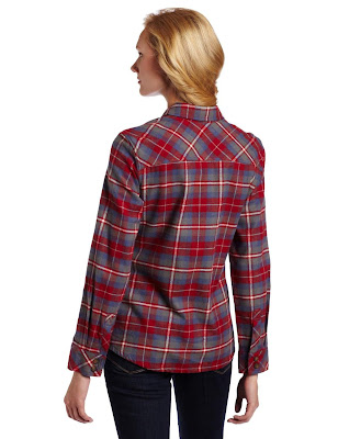Womens flannel shirts 2012 03 11 for Women s slim fit flannel shirt