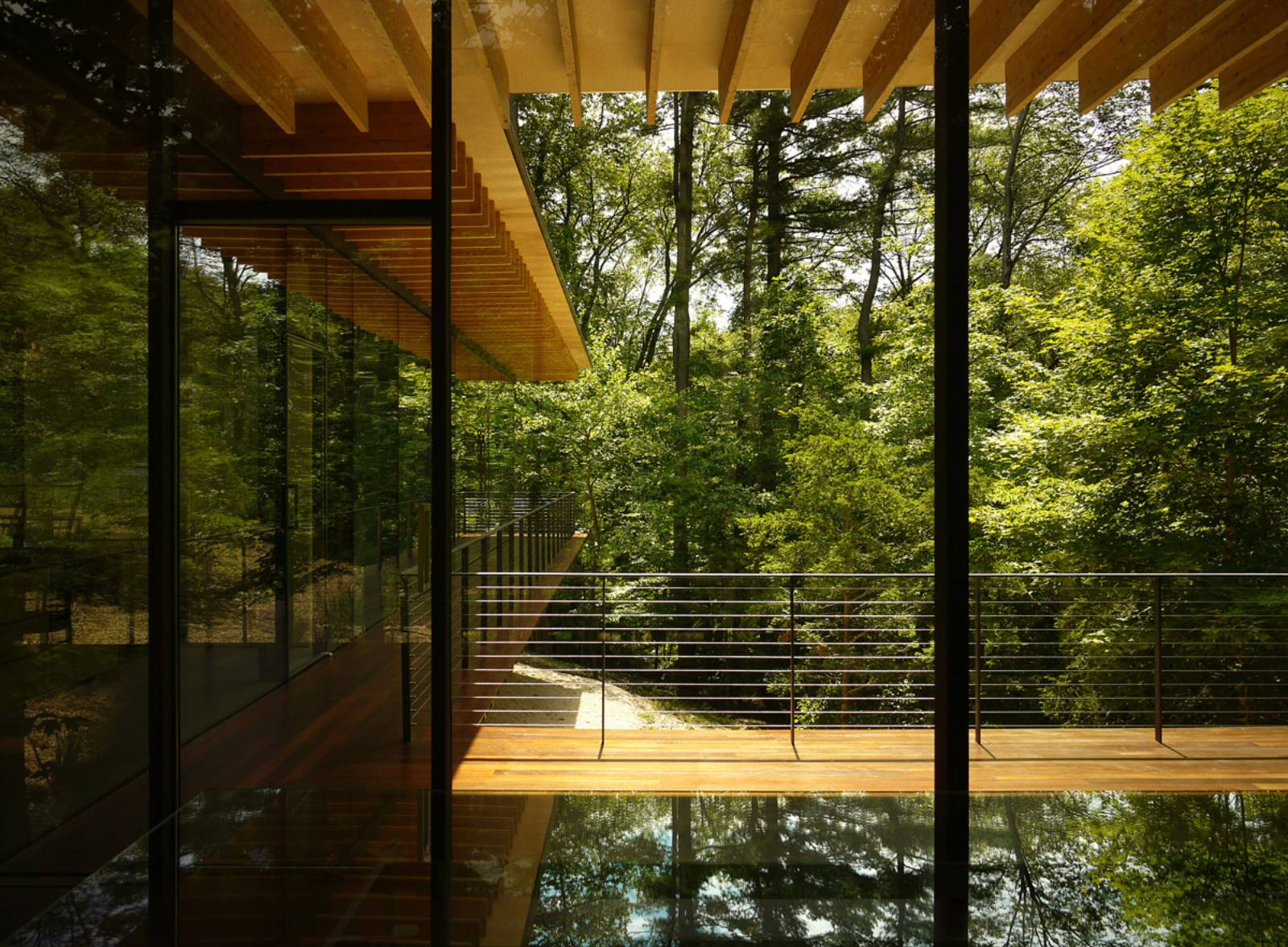 Architecture Now And The Future GLASS WOOD HOUSE BY KENGO