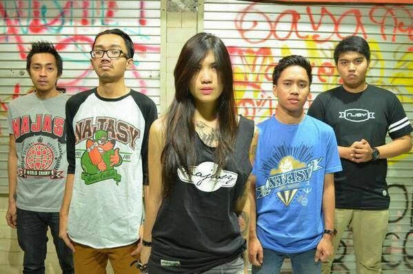 Loser Rejected Band Pop Punk / Skatepunk Bintaro - Tangerang Female Vocal Foto Personil Wallpaper