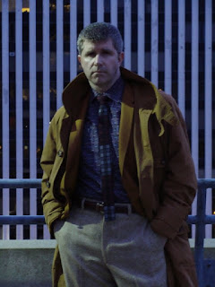 AbbyShot Customer in his Blade Runner Inspired Deckard Trench