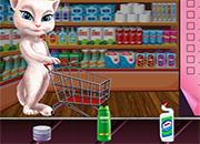 Talking Angela Great Shopping juego